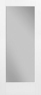 Clear Glass Door