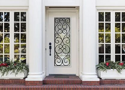 Belleville Full Lite Exterior Door