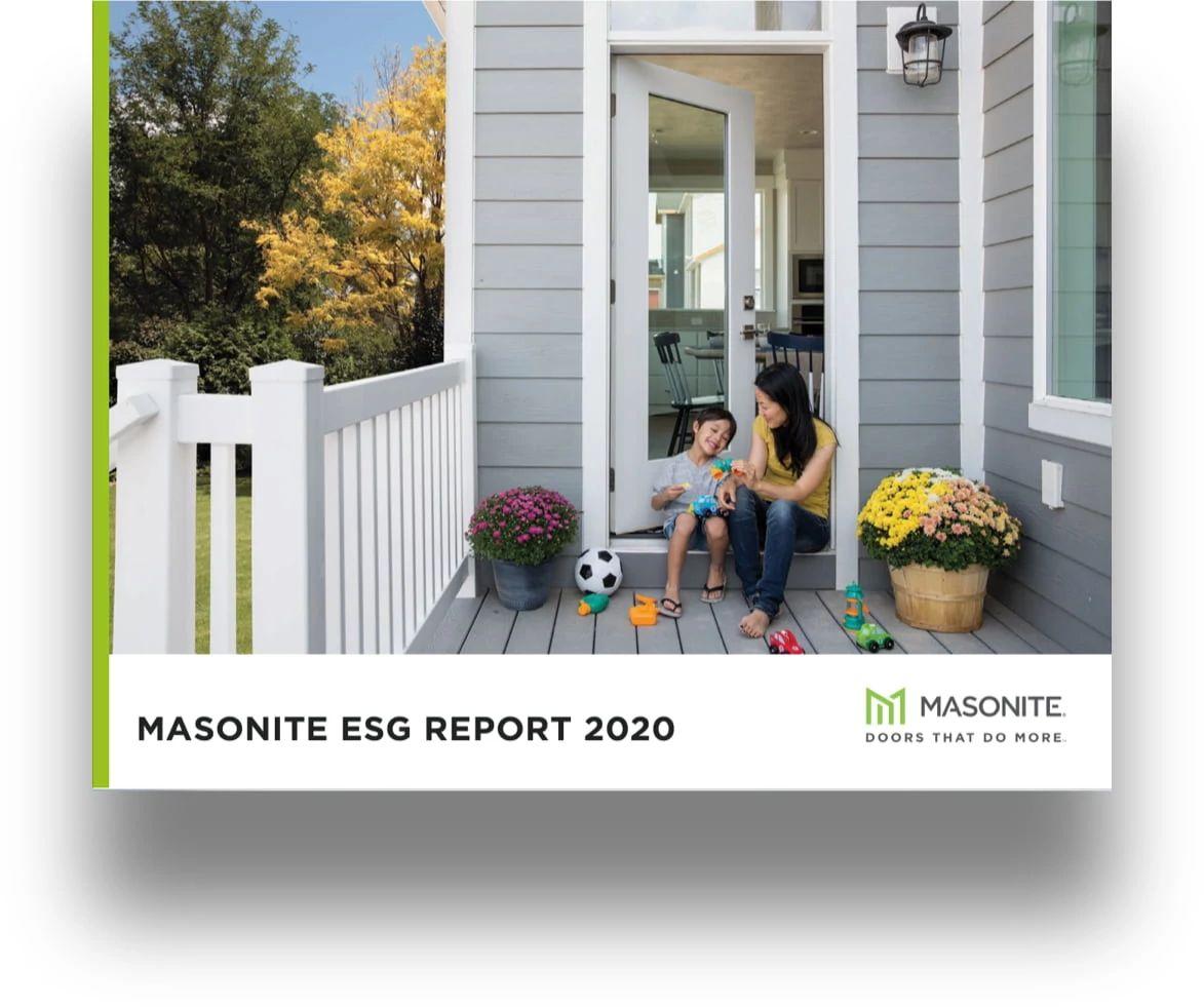 ESG Report 2021 Cover