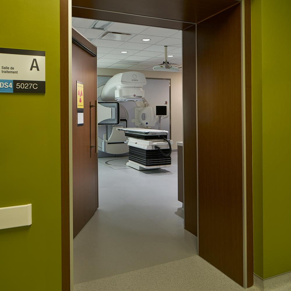 Hospital Interior Wood Veneer Doors