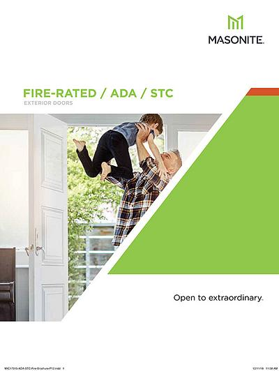 ADA STC Fire Brochure US