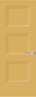 Livingston Solid Core Door in Anjour Pear