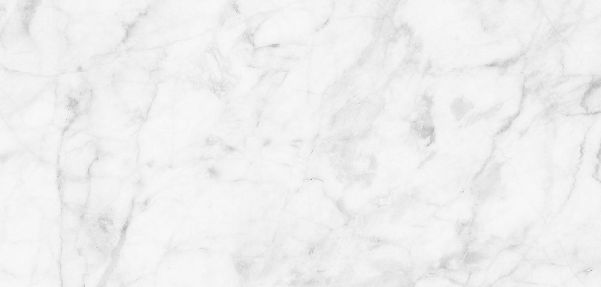 White and gray marble finish common in Pretty + Calm spaces