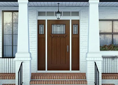Heritage Craftsman Exterior Door