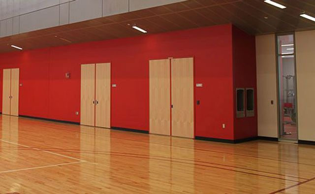 Masonite Architectural College Gymnasium Installation