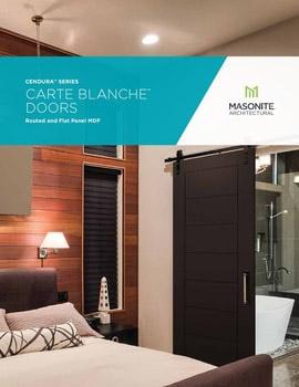 Cendura Carte Blanche Brochure