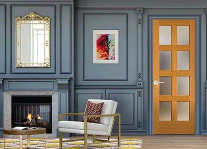 French Interior Wood Doors