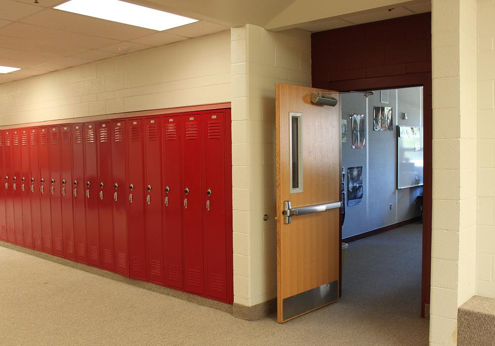 Masonite Marshfield doors in a school
