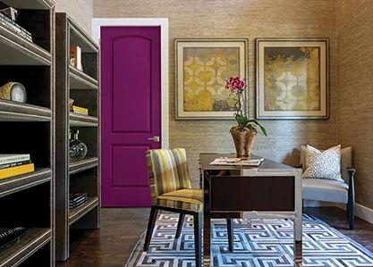 2 Panel Roman Interior Door