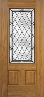 Oakcraft Fiberglass Door