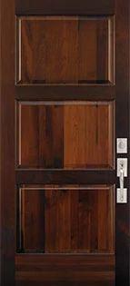 Le Chateu 3 Panel Wood Door