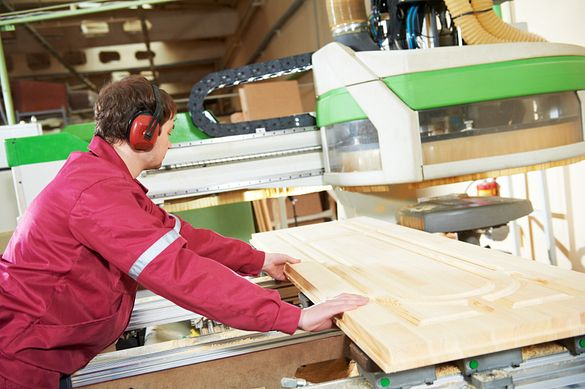 Masonite prioritizes precision and expertise developed over 100 years of dedication to door manufacturing.
