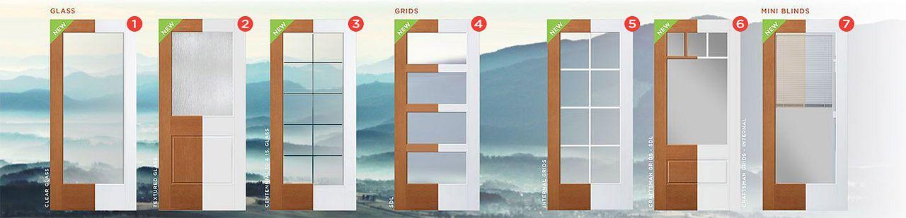Glass Doors Grid Diagram