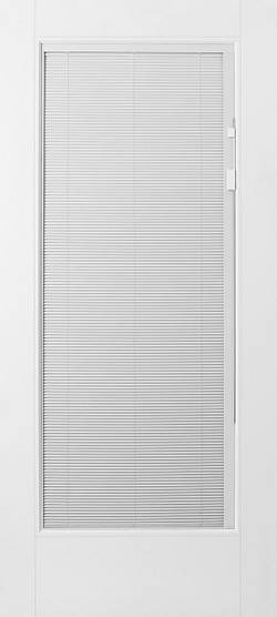 Masonite Glass Door with Mini Blinds