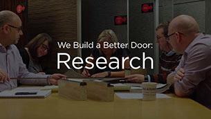We Build a Better Door: Research
