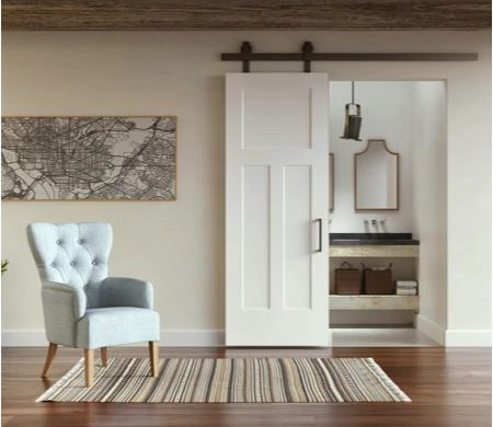 Image featuring the Winslow Solid Core Door in home.