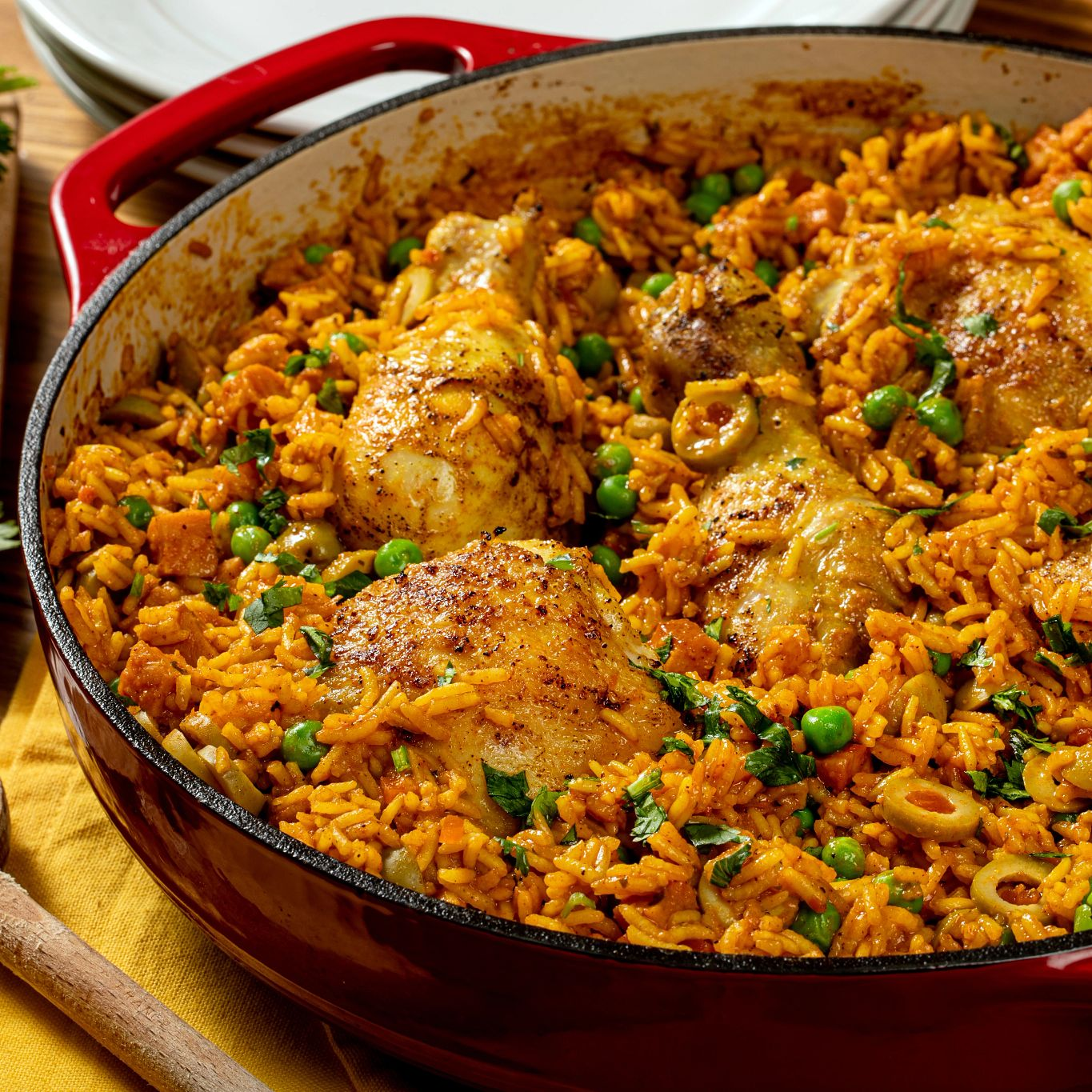Adobo Chicken and Rice