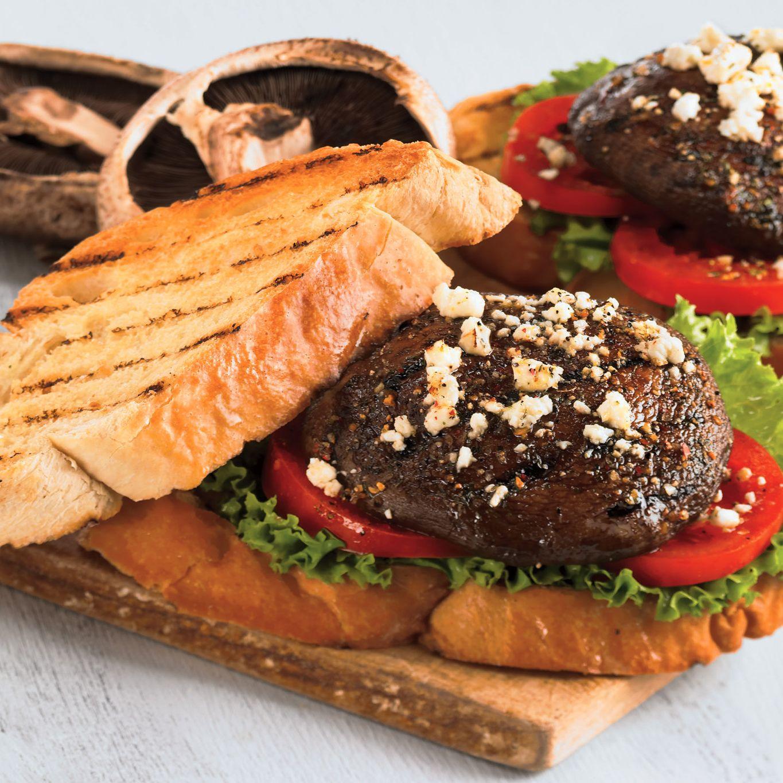 Champignons Portobello Grillés
