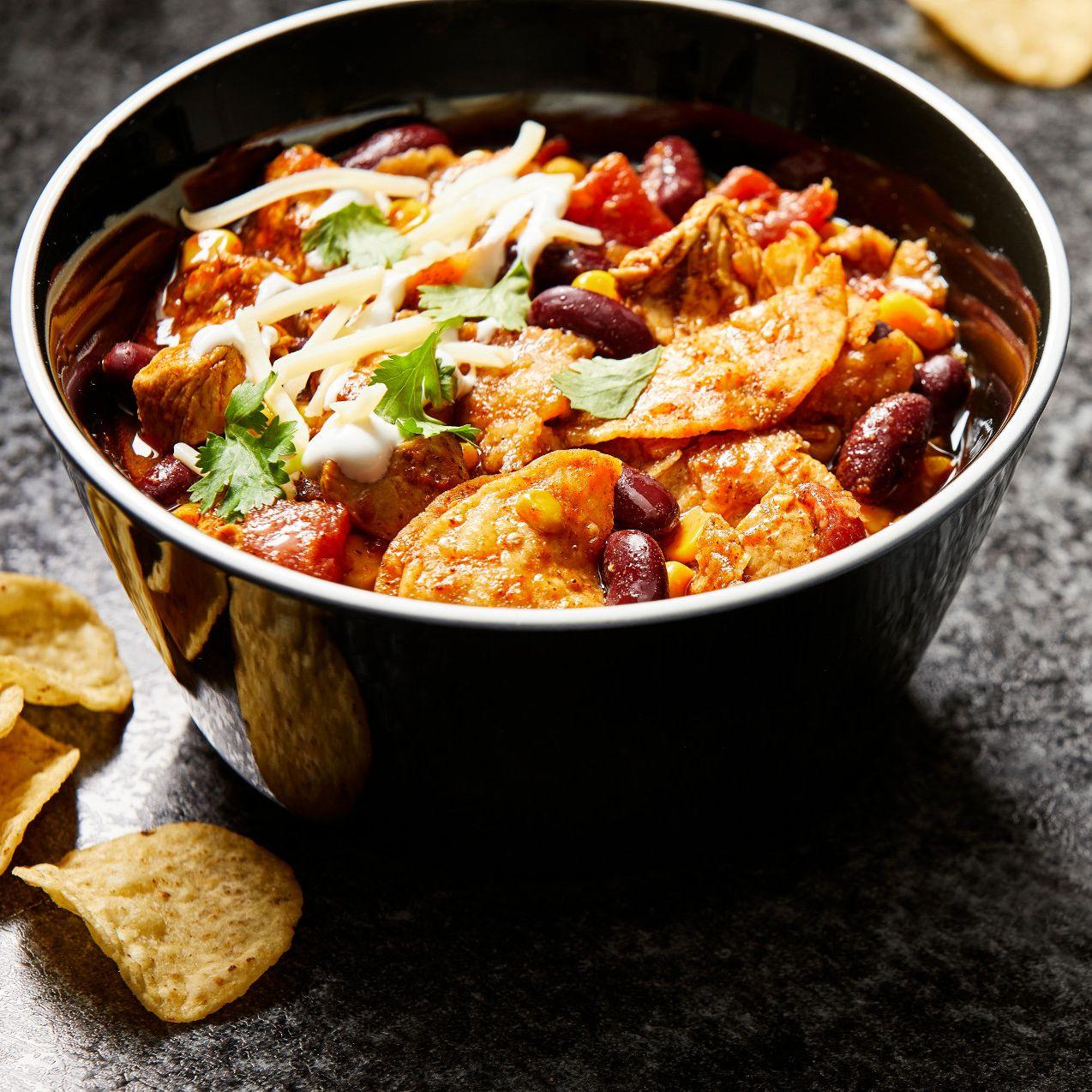 Enchilada Chicken Chili