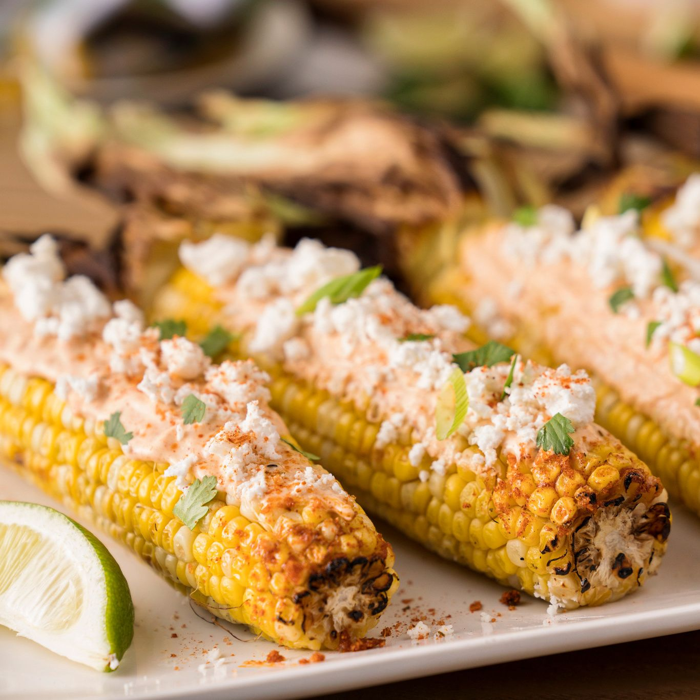 Chipotle Mango Mexican Style Street Corn