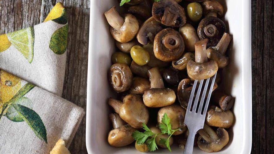 Provencale Mushrooms