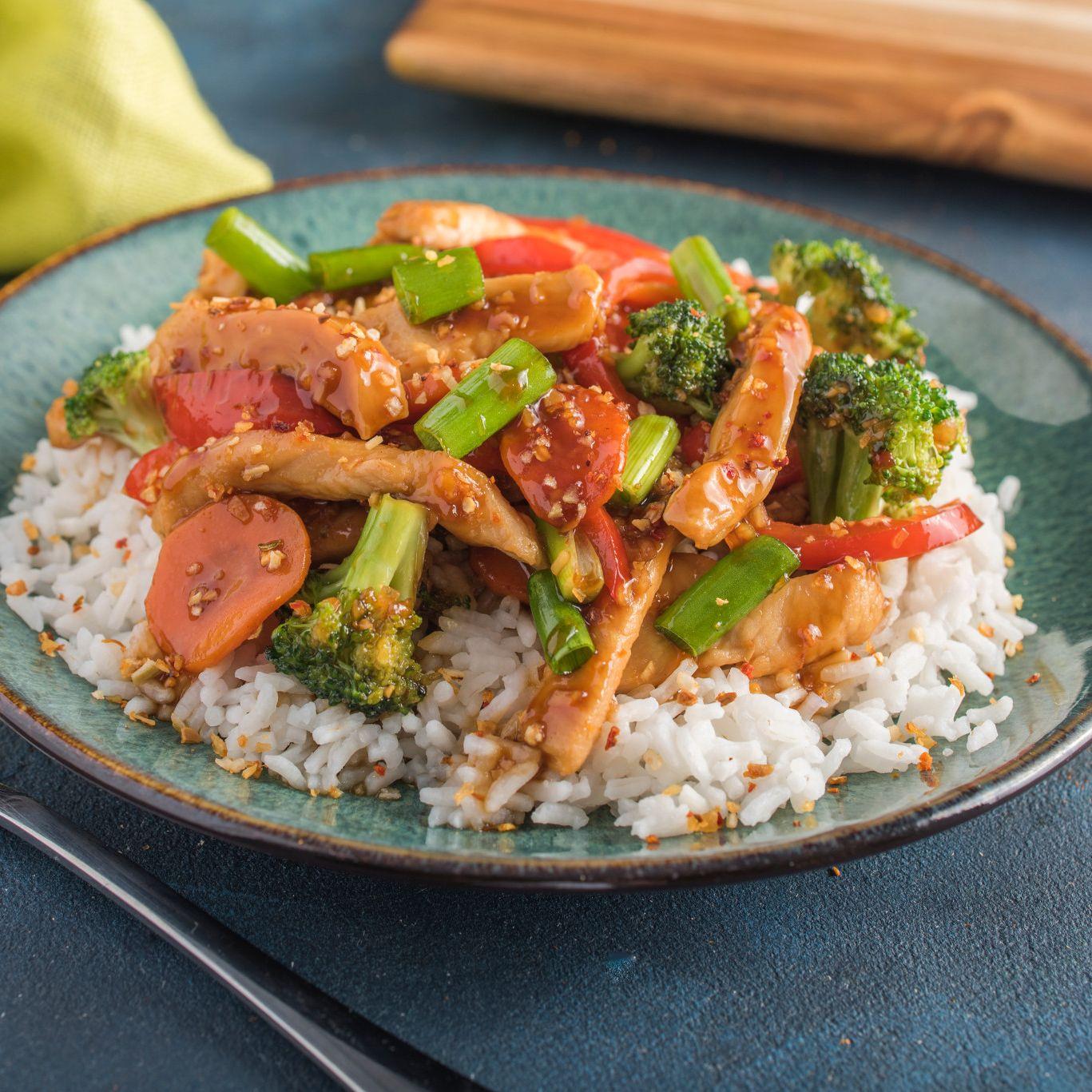 Chicken & Vegetable Stir-Fry
