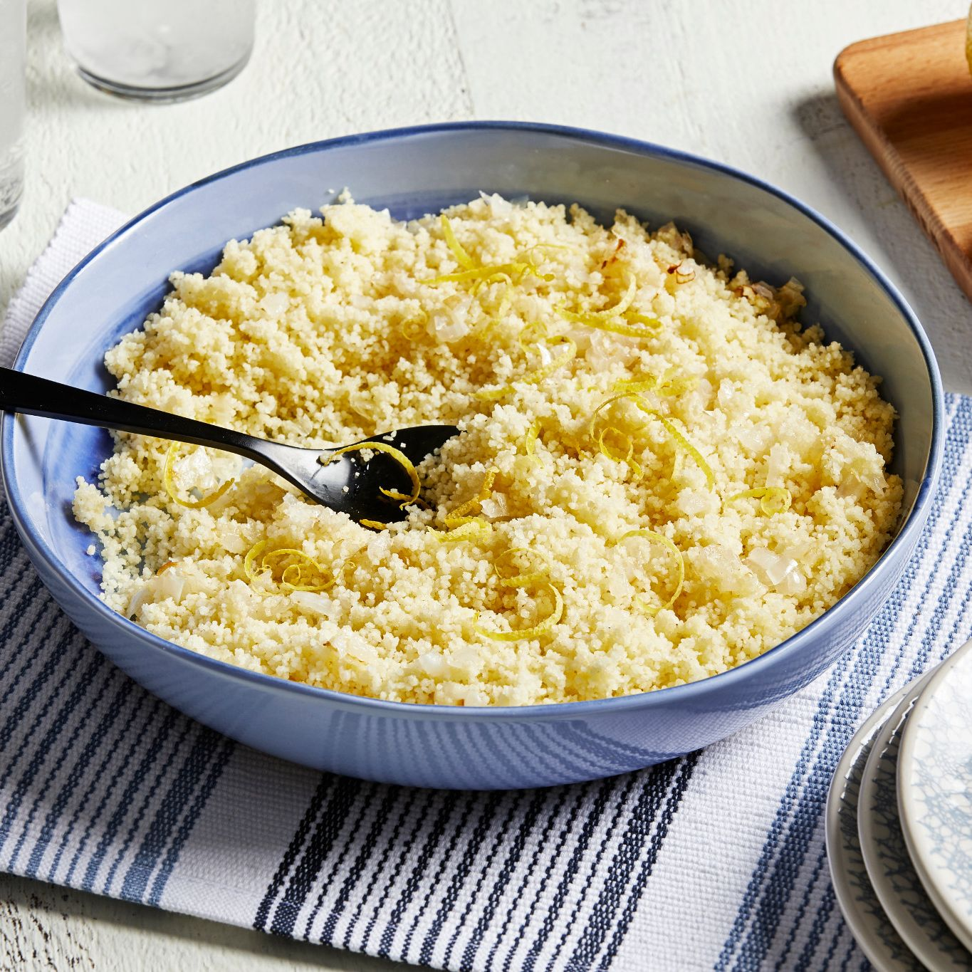 Easy Lemon Couscous