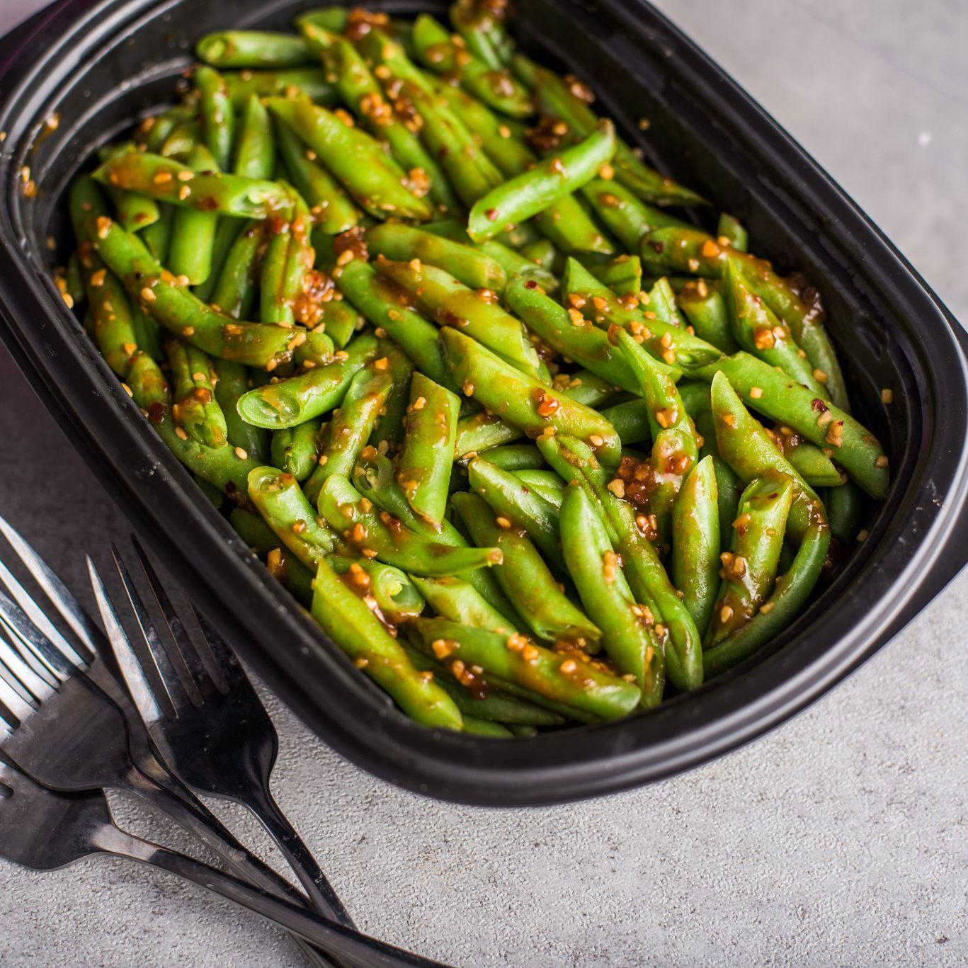 Sesame Teriyaki Green Beans