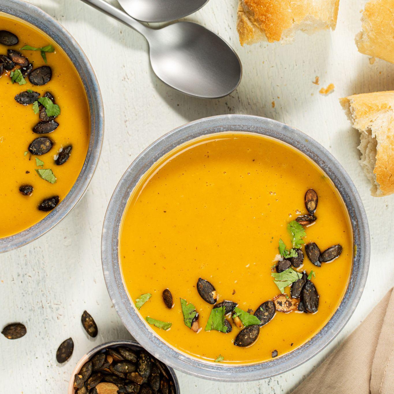 Creamy Ginger Butternut Squash Soup