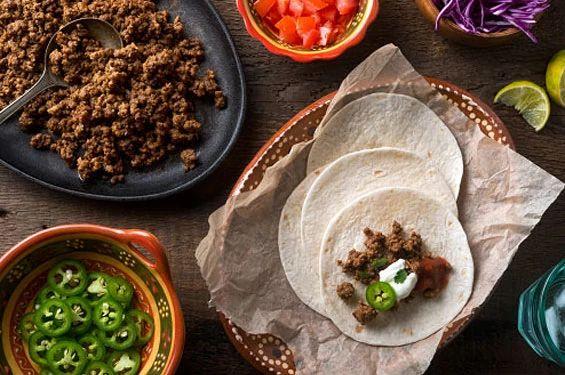 tacos burritos