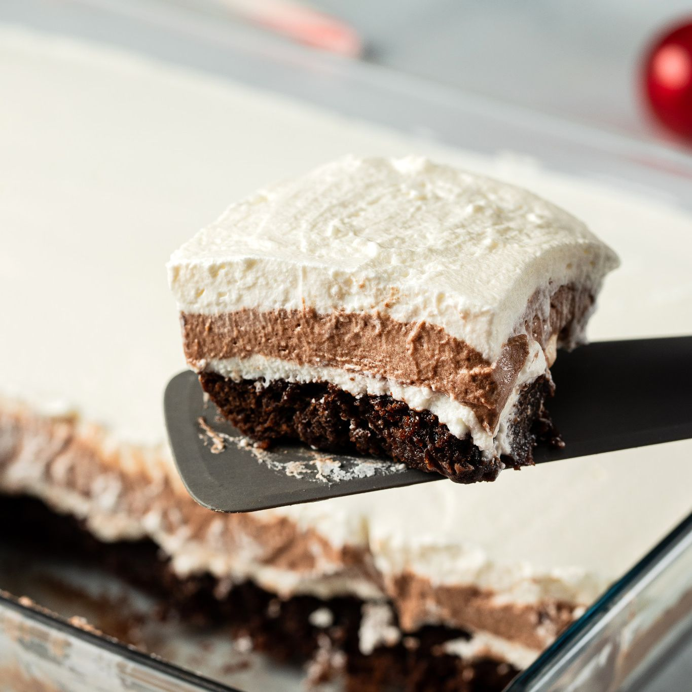 Peppermint Chocolate Lasagna