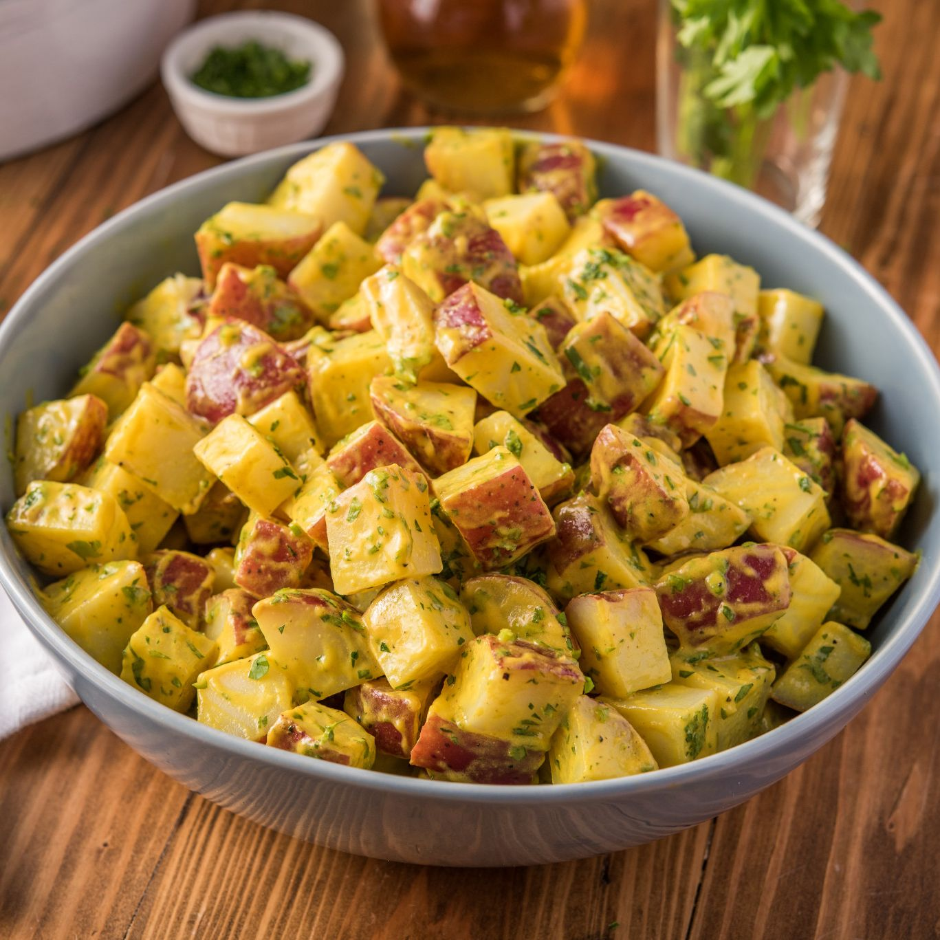 Tangy Sweet Onion Red Potato Salad