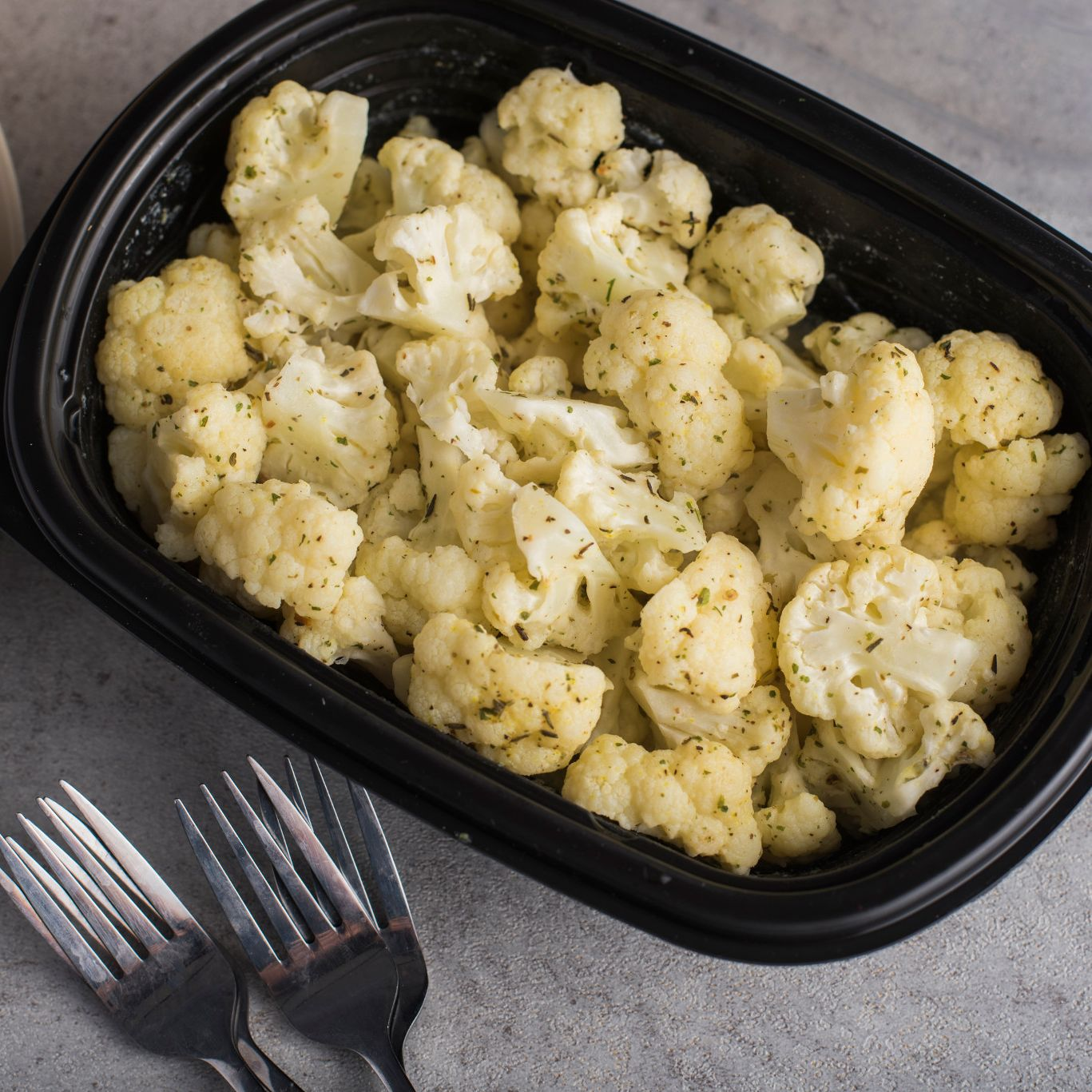 Herb Butter Cauliflower