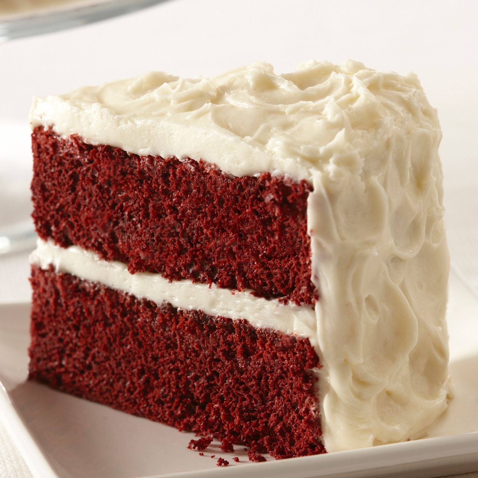 Easy Red Velvet Cake with Vanilla Cream Cheese Frosting