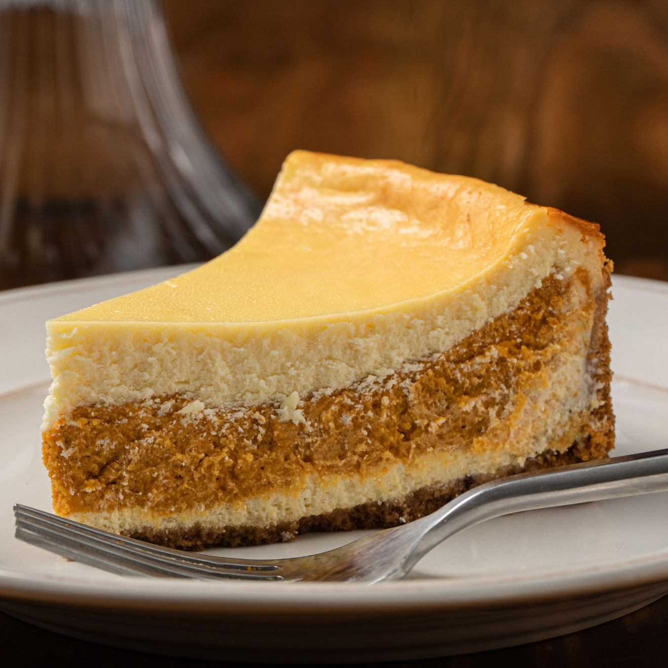 Layered Pumpkin Cheesecake Recipe Mccormick