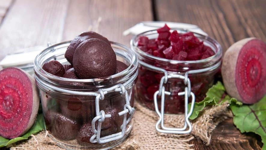 Pickled Baby Beetroots
