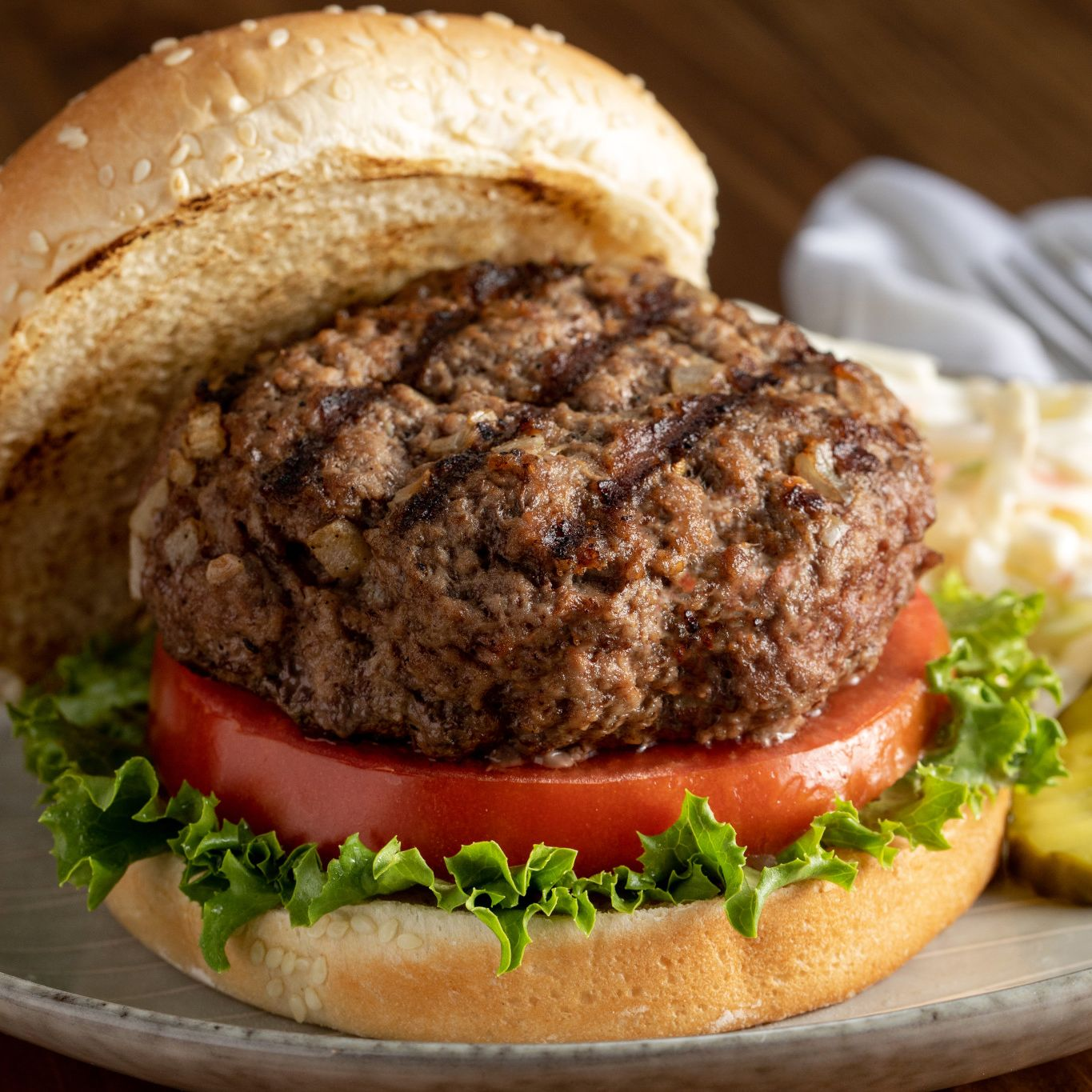 Easy Grilled Hamburger Recipe Mccormick