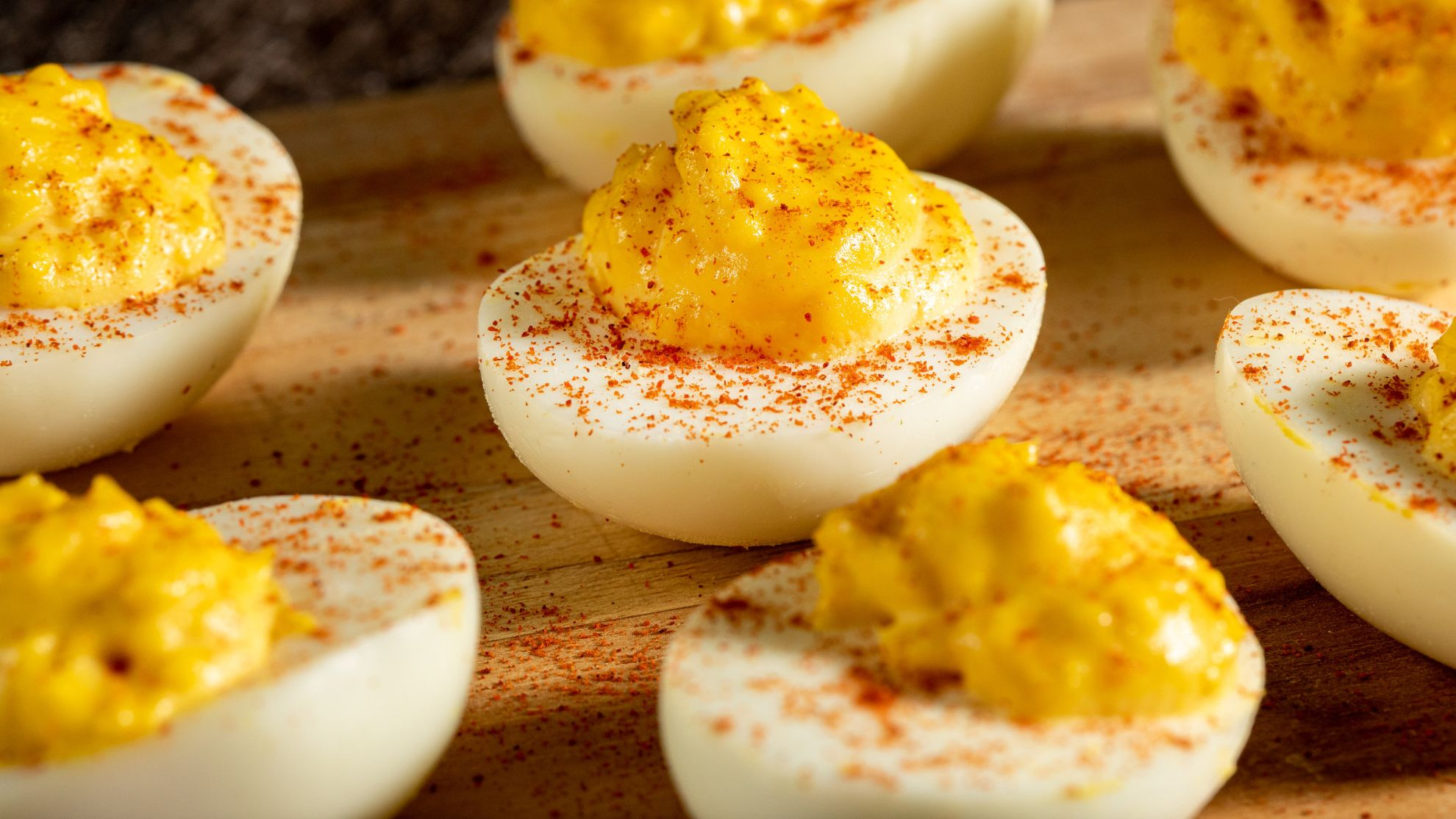Easy Deviled Eggs French S