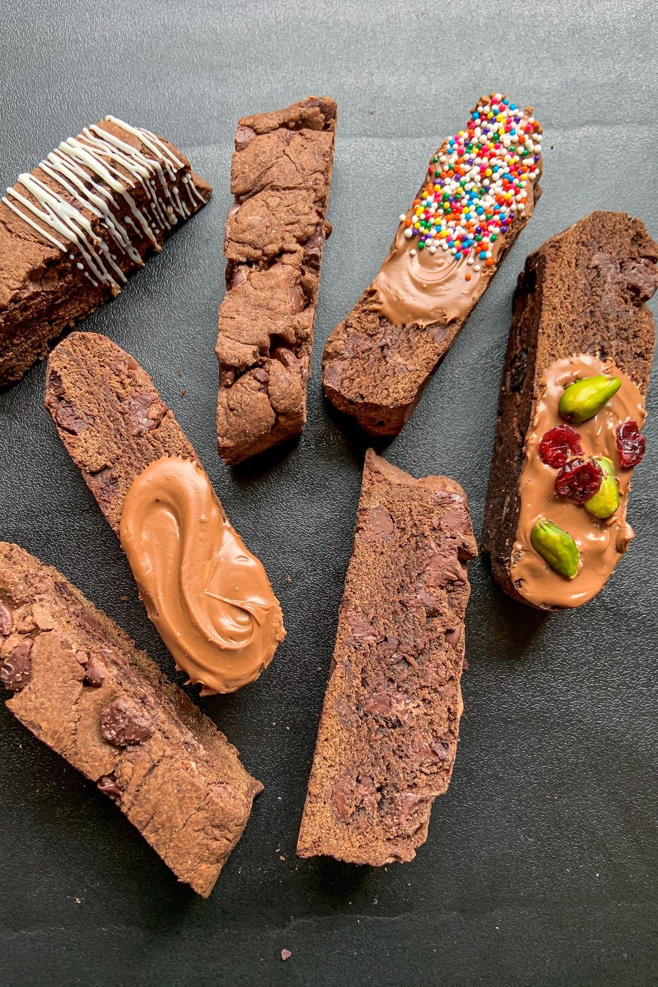 Cinnamon Brownie Biscotti