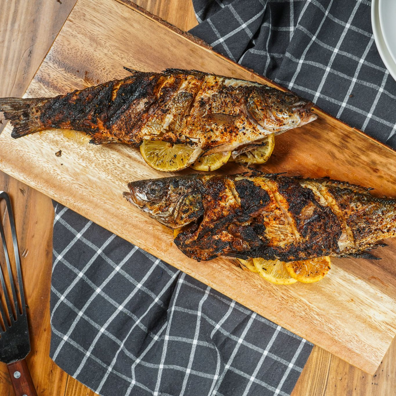 Applewood Grilled Whole Fish