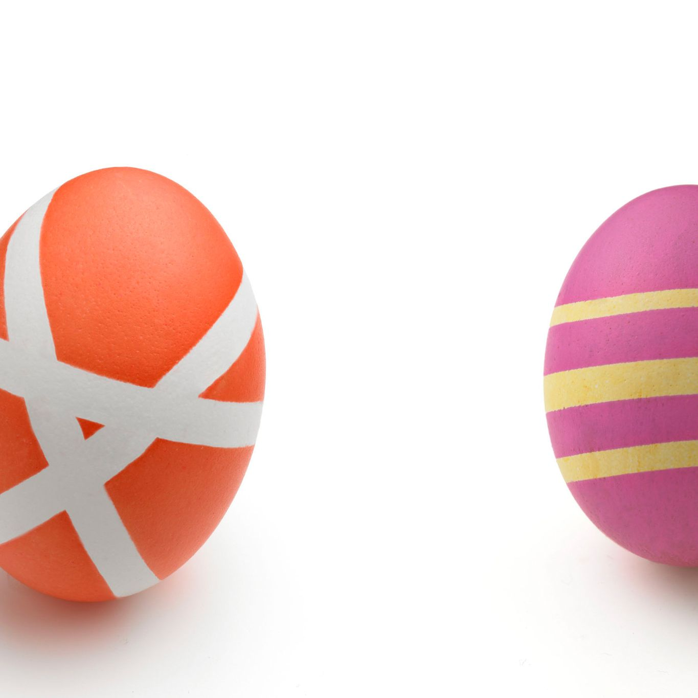 Striped Easter Eggs Helloflavour Ca