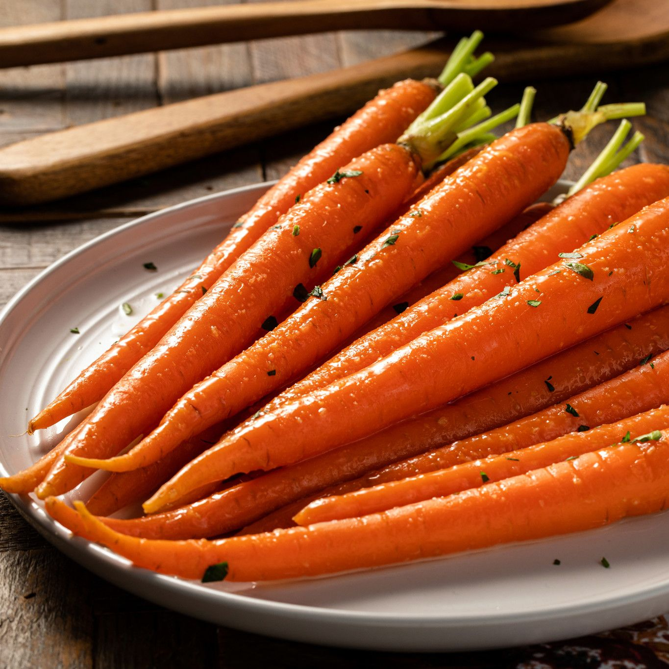 Ginger and Cilantro Carrots