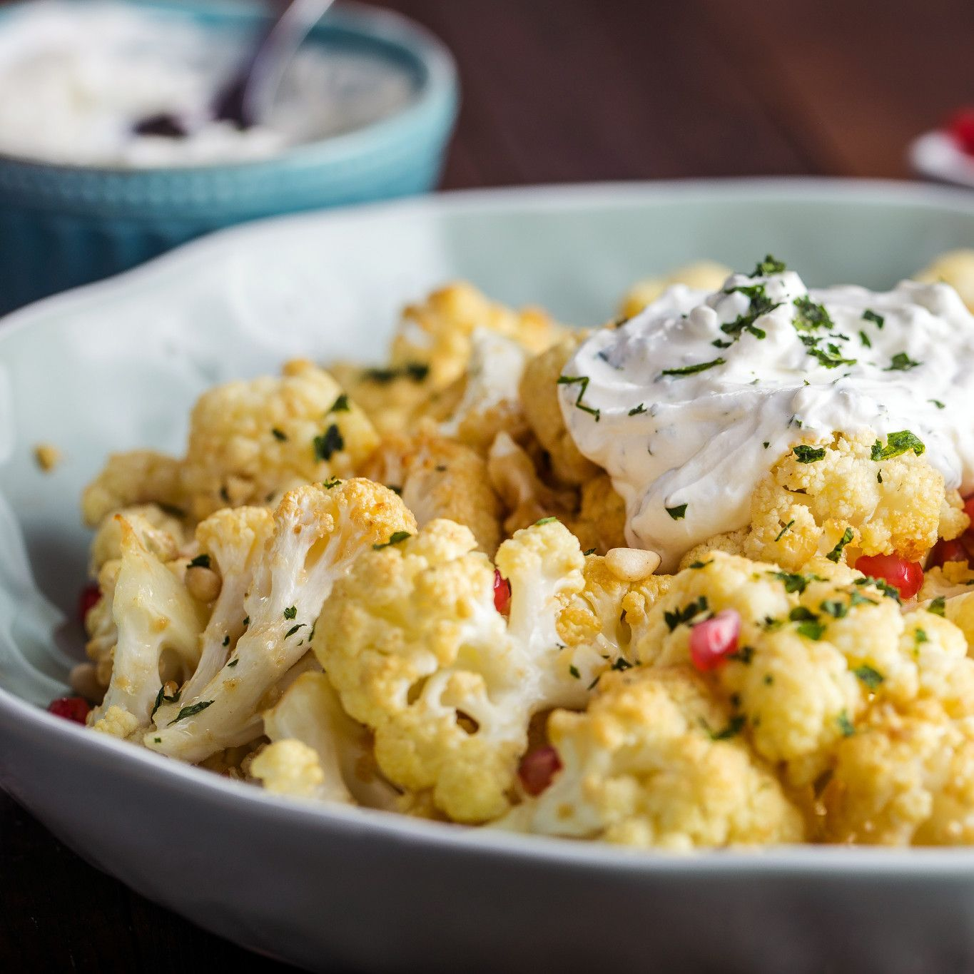 Garlic Roasted Cauliflower with Pomegranate and Pine Nuts-8075.jpg