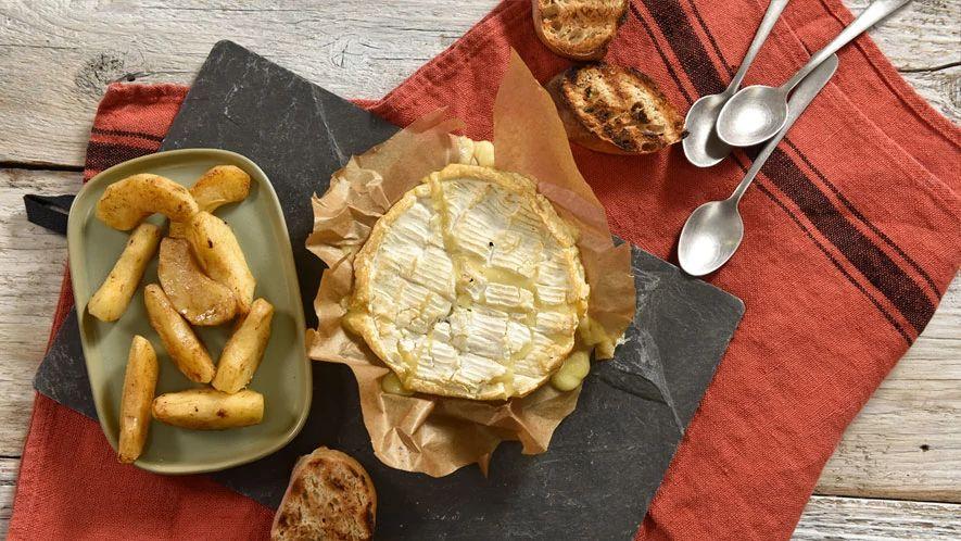 Camembert aux pommes