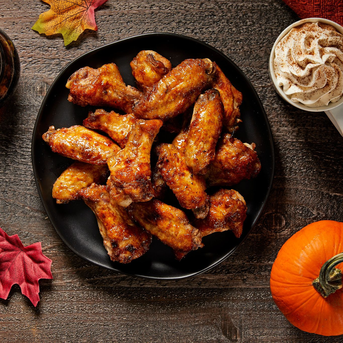 Buffalo Pumpkin Spice Wings