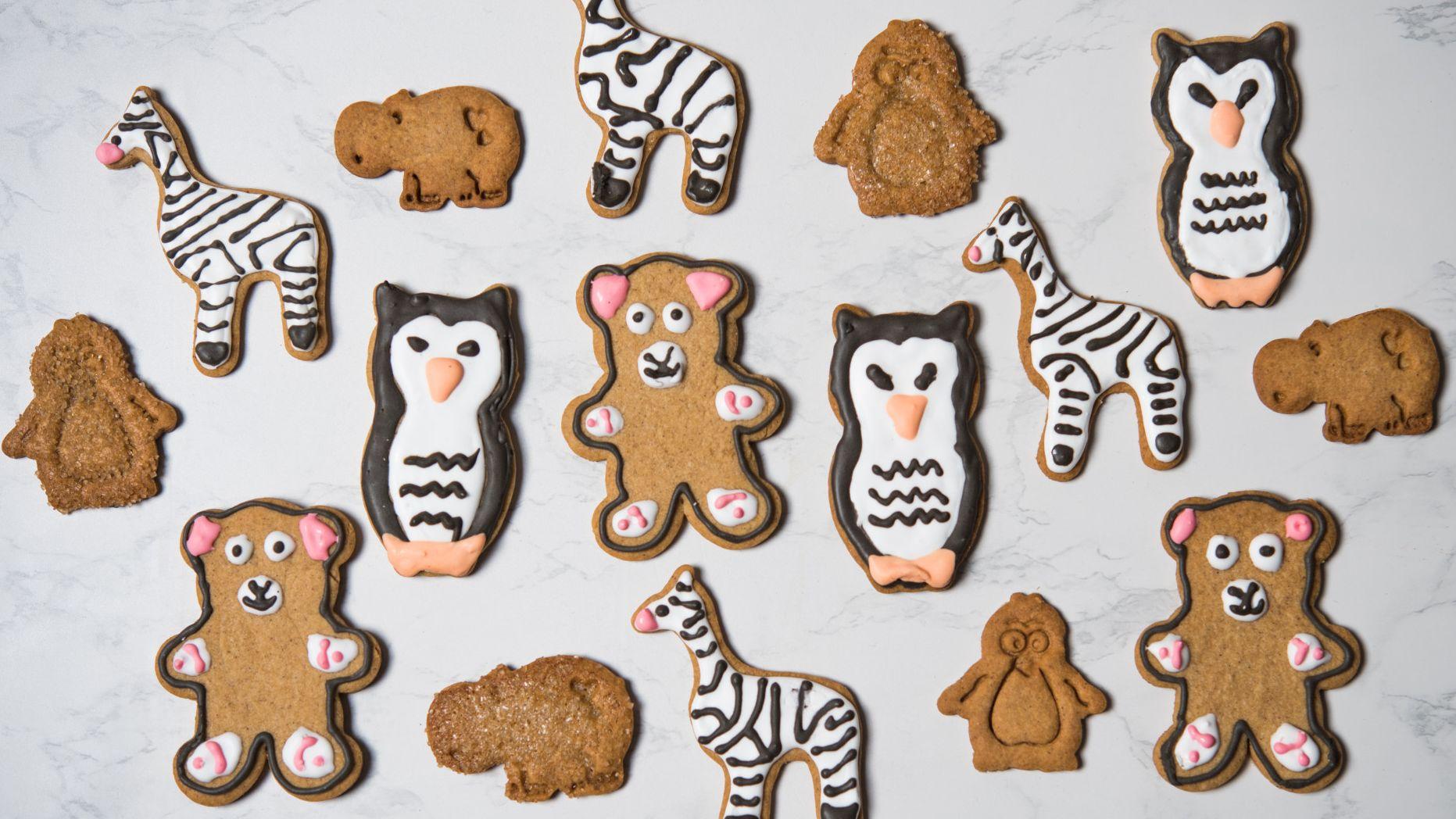 Cinnamon Brown Sugar Animal Crackers