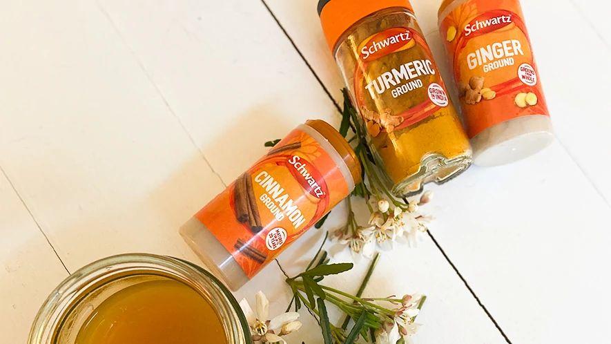 Healing Ginger and Turmeric Tea