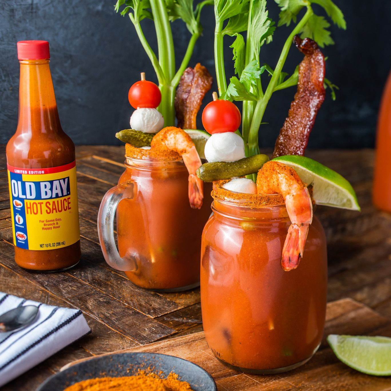 Spicy OLD BAY Bloody Mary