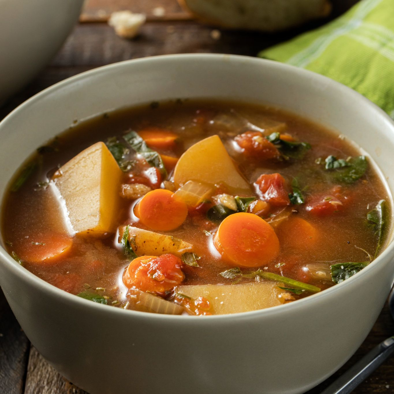 Country Fresh Vegetable Soup