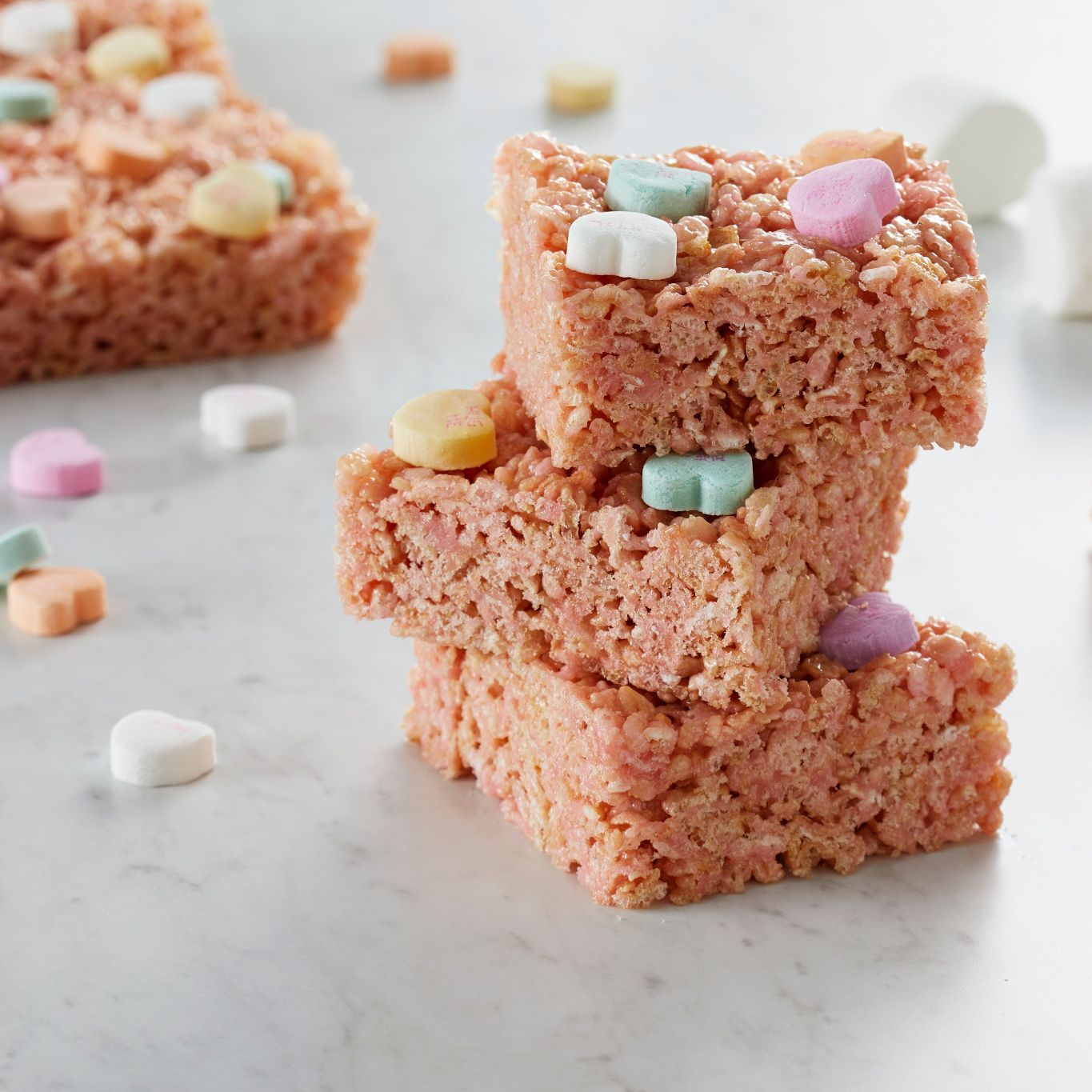 Be Mine Marshmallow Bars